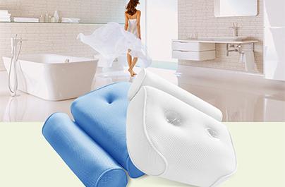 3D浴缸靠枕