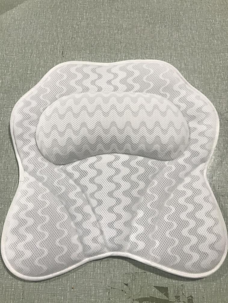 3D浴缸枕