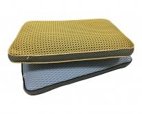 3D 镶边枕
